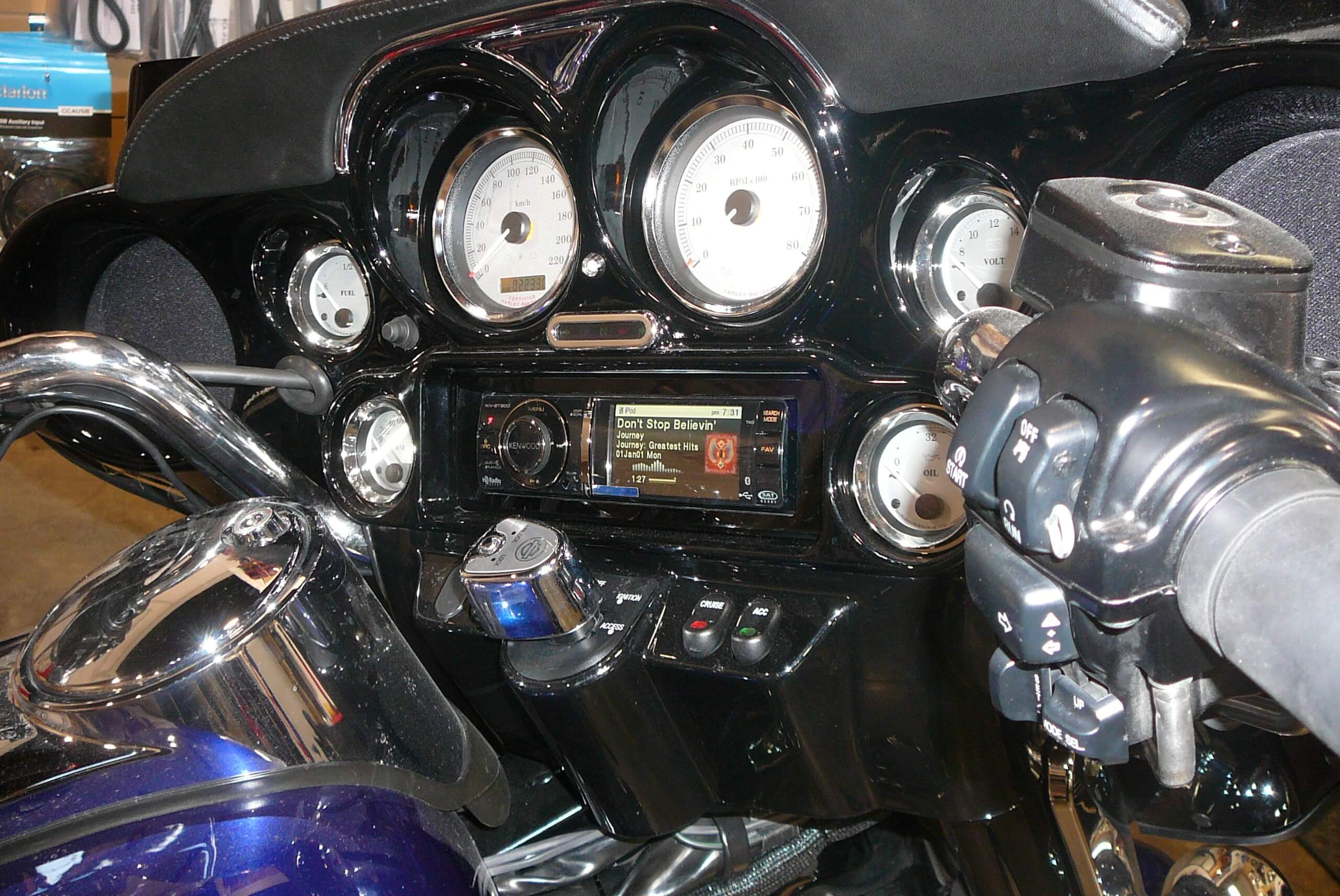 Motorcycle Stereo Upgrades Amp Speakers For Harley Baggers