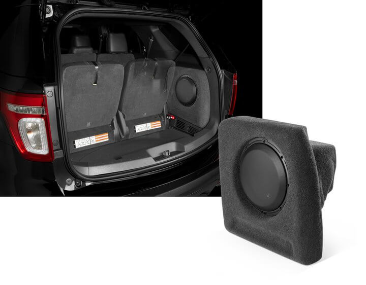 Custom Fit Sub Woofer Enclosure For 2011 Ford Explorer
