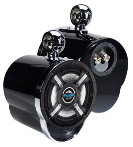 Bazooka Wakeboard Tower Speakers MT6502BSK
