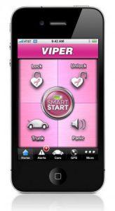 Viper SmartStart Thinks Pink for October with Smartphone Car Starter App Skin