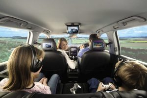 Car DVD Players: In-Dash DVD, Overhead & Headrest Screens