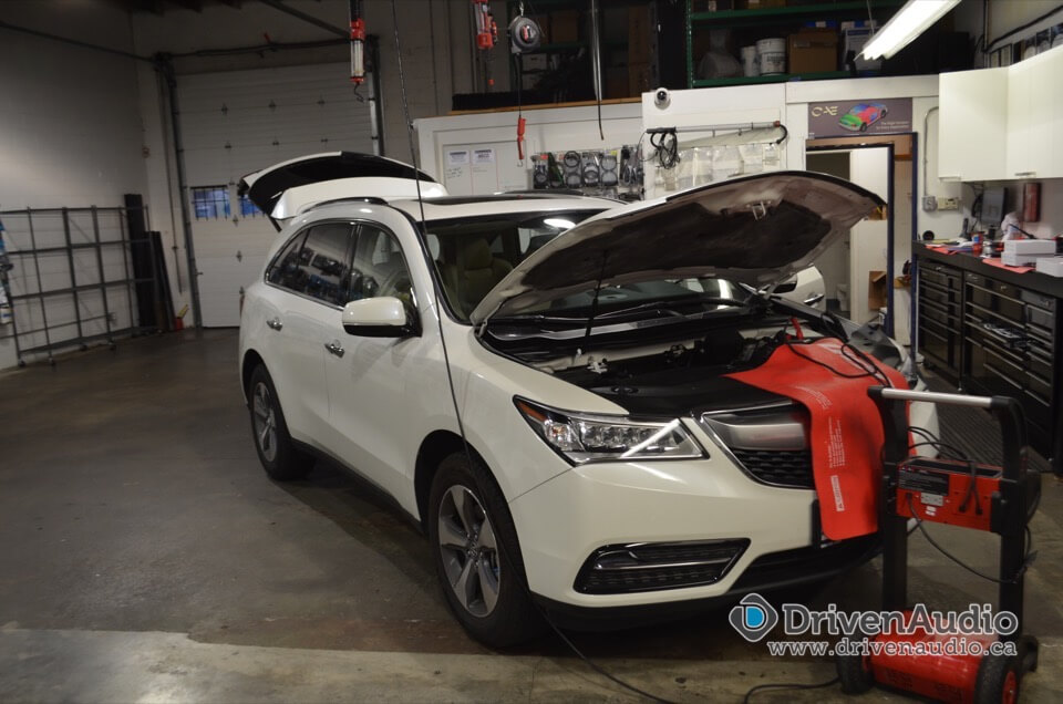 2014 Acura Mdx Backup Sensors