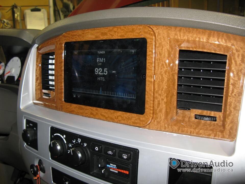 2006 Dodge Ram - iPad WaterJet Install - Certified Autosound