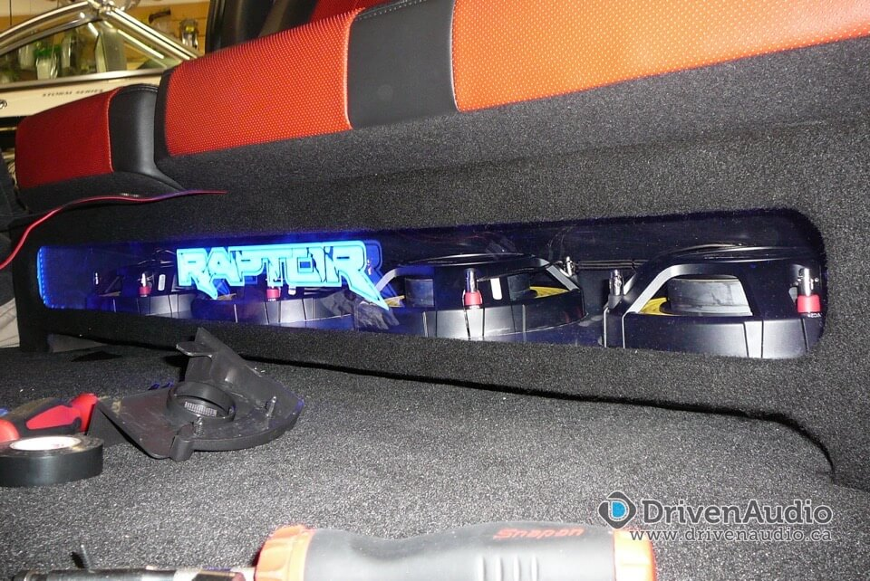 2013 Ford F 150 Raptor 4 Subs Under Seat Certified
