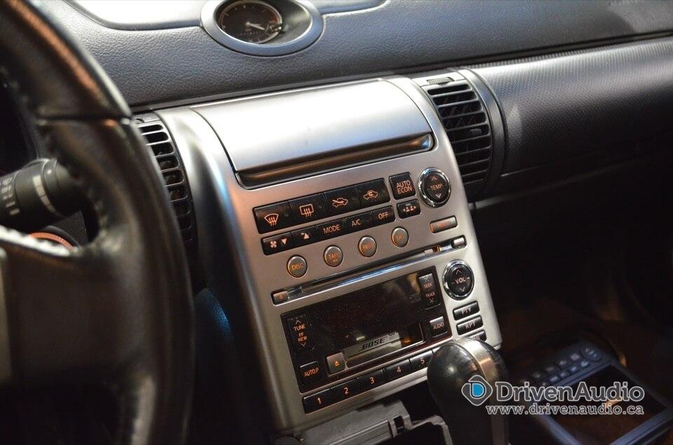 2004 Infiniti G35 Deck Metra Kit Certified Autosound