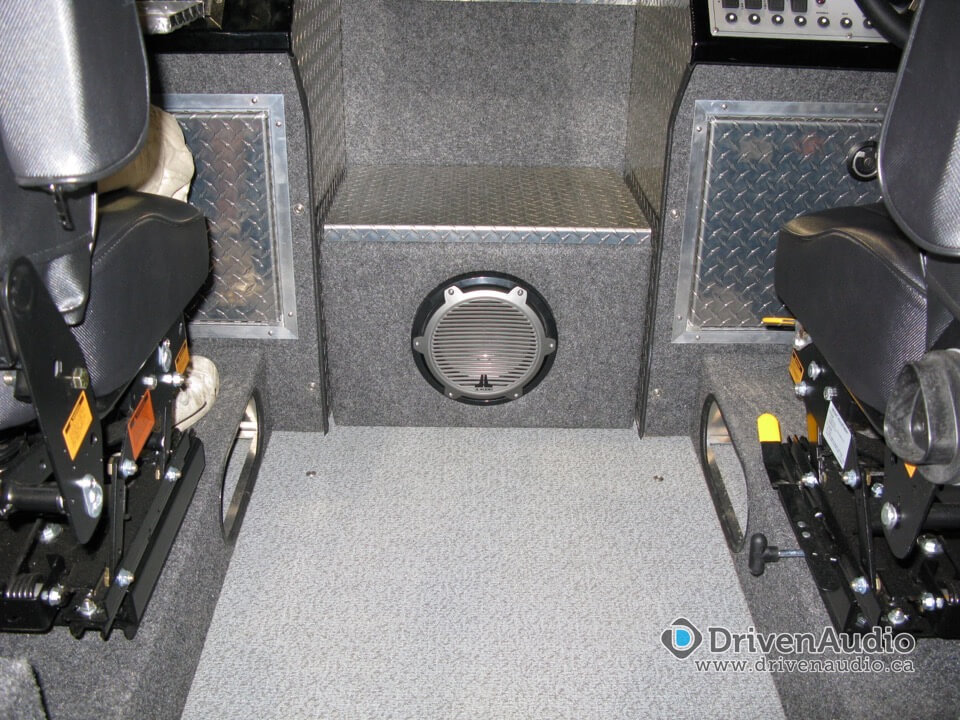 Thunderjet Boat Certified Autosound Amp Security