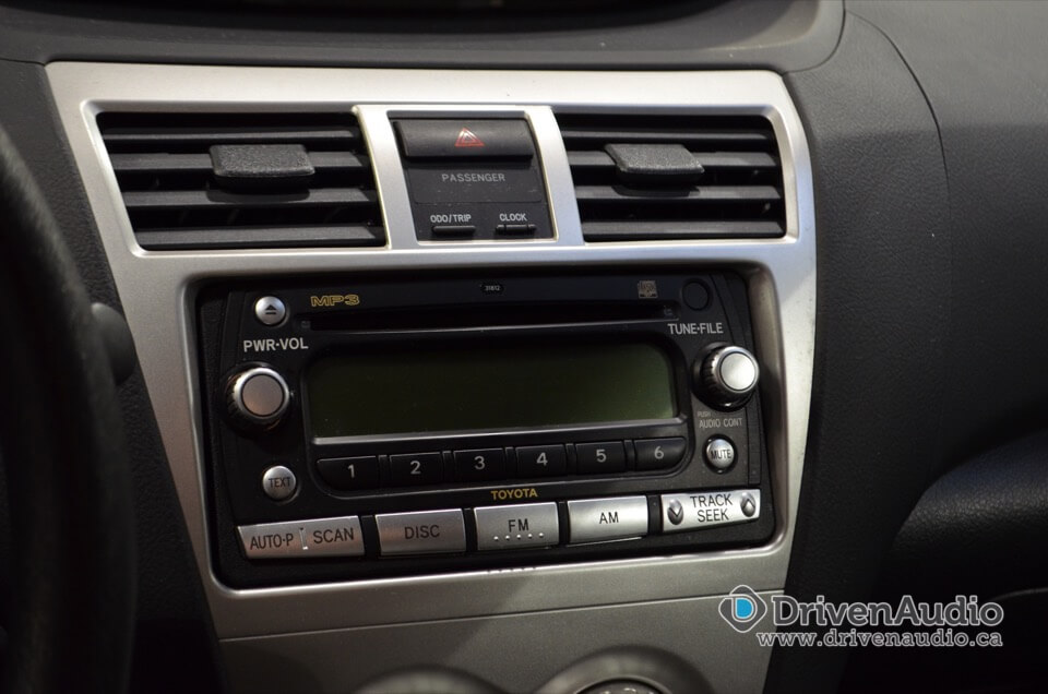 2007 Toyota Yaris Double Din Certified Autosound