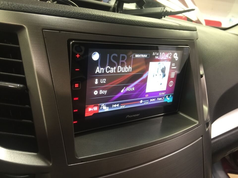 Abbotsford Subaru Client Gets Outback Apple Carplay Radio