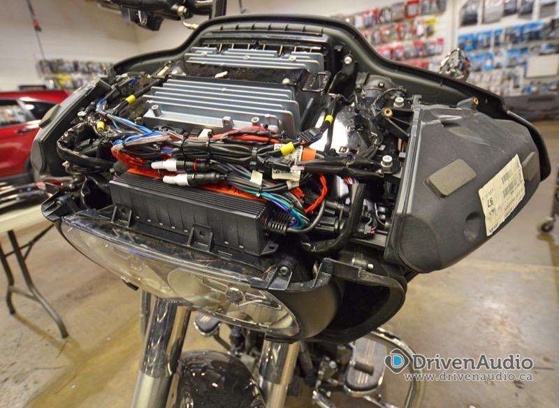 Harley Davidson Road Glide Speaker and Amp Upgrades on