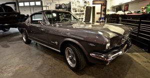 Classic 1965 Ford Mustang Gets a Modern Audio System Upgrade