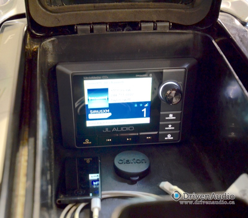 Repeat Abbotsford Client Gets Sea-Doo Audio System Upgrade
