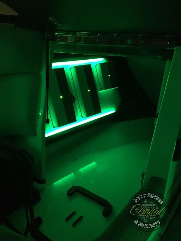 Vancouver Boat Show Custom Malibu 22vlx Stereo System