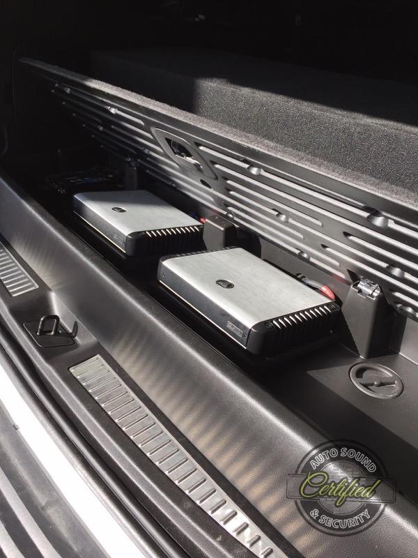 Cadillac Escalade Custom Audio