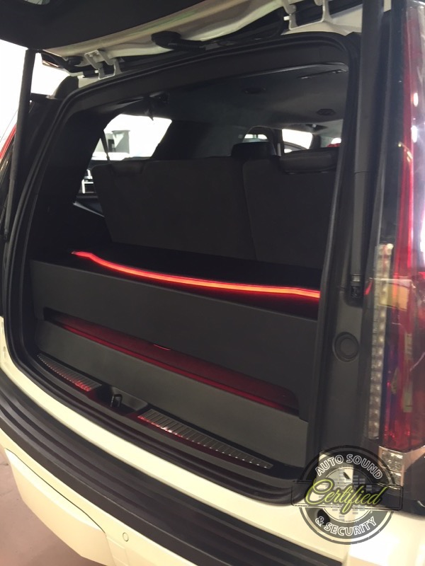 2017 Cadillac Escalade Custom Audio System Upgrade