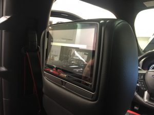 Ford F-150 Rear Seat Entertainment System for Abbotsford Client