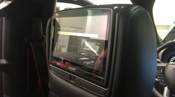 Ford F-150 Rear Seat Entertainment