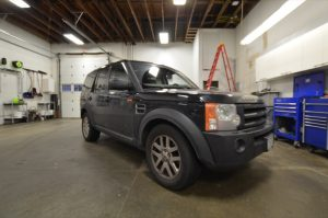 Abbotsford Land Rover Client Gets LR3 Audio System Upgrade
