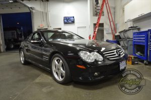 Abbotsford Client Gets Mercedes-Benz SL55 Radio Upgrade
