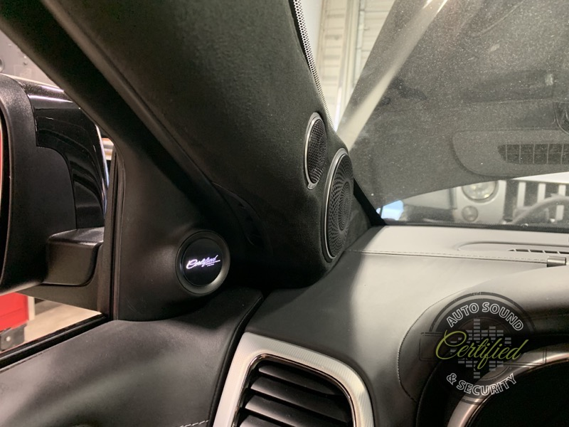 Awesome Stereo Upgrade for Maple Ridge Jeep Trackhawk